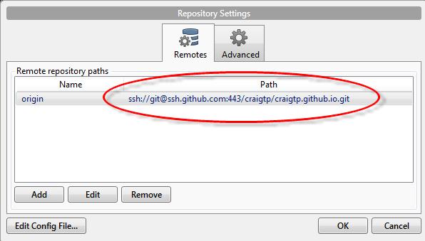 SSH over SSL with Bitbucket and Github - CraigTP's Blog