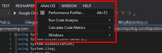 Analyze Solution For Code Clones missing in Visual Studio 2017
